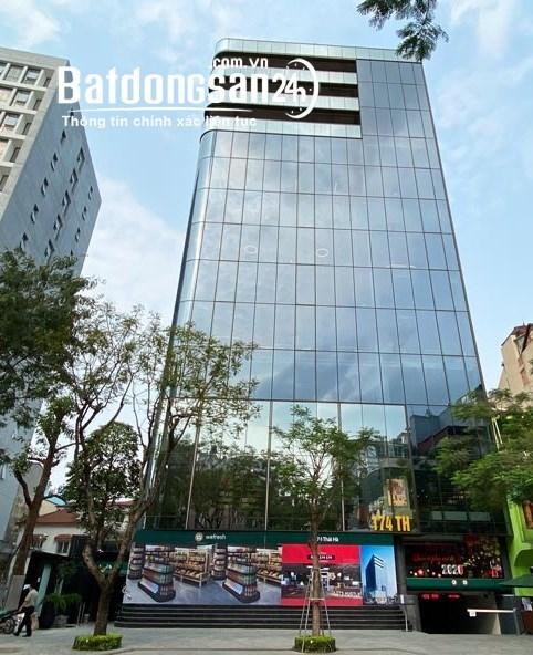 Cho thuê văn phòng hoàn thiện đẹp mặt phố Thái Hà. Lh Ms Tú 0909300689