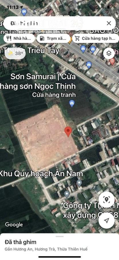 Bán đất nền phân lô Đường Quốc Lộ 1A, Phường Hương An, Thị xã Hương Trà