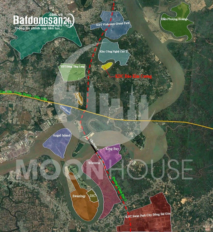 Chủ bán gấp 2 lô đất nền Biệt Thự  KDC Đảo Kim Cương Q9 ngay bên sông Tắc