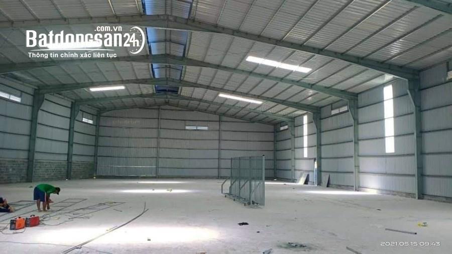Cho thuê kho nhà xưởng 300 m2, 1100 m2, 1600 m2, 6500 m2 tại Cần Đước, LA