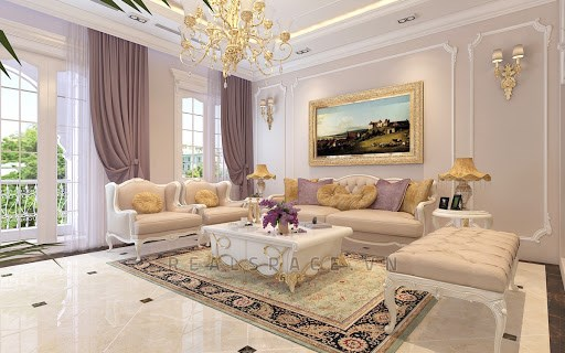 Cho thuê biệt thự đẹp mặt tiền đường trung tâm phường 4.