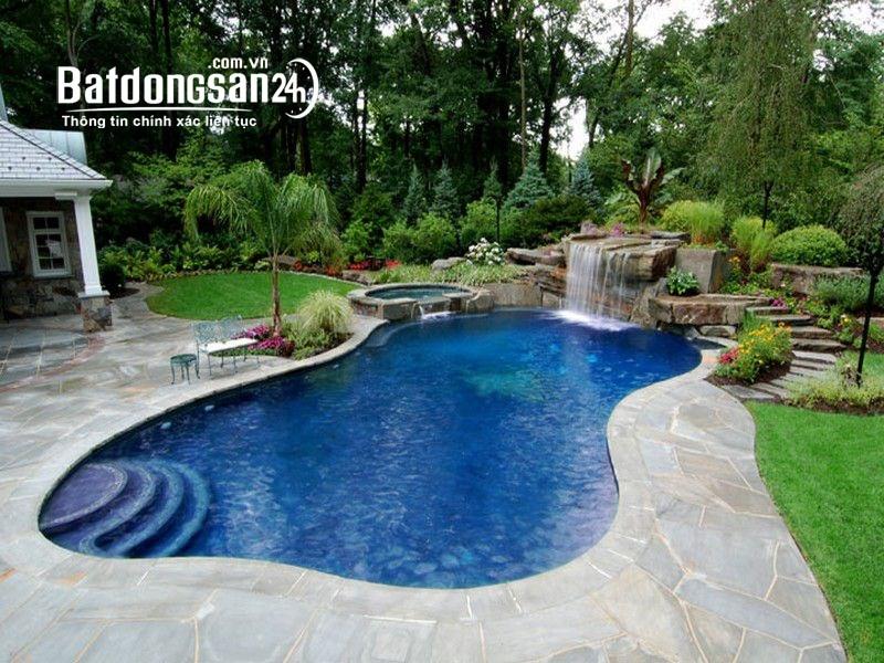Cho thuê biệt thự có hồ bơi tổng 557 m2 đường Xô Viết Nghệ Tĩnh