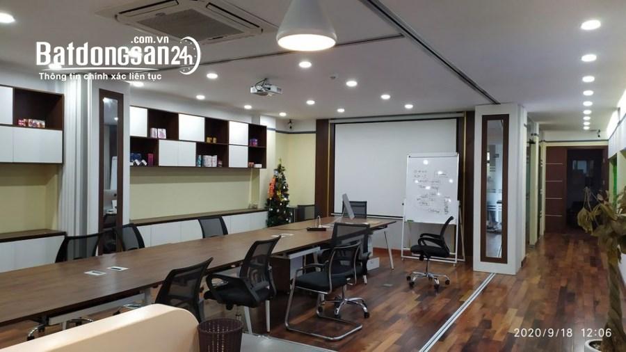 Cho thuê văn phòng hạng B hai mặt thoáng đường Nguyễn Xiển 160m, 110m