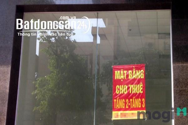 Cho thuê tòa nhà 1 trệt 12 lầu tổng diện tích 2.650m2 đường Lê Hồng Phong.