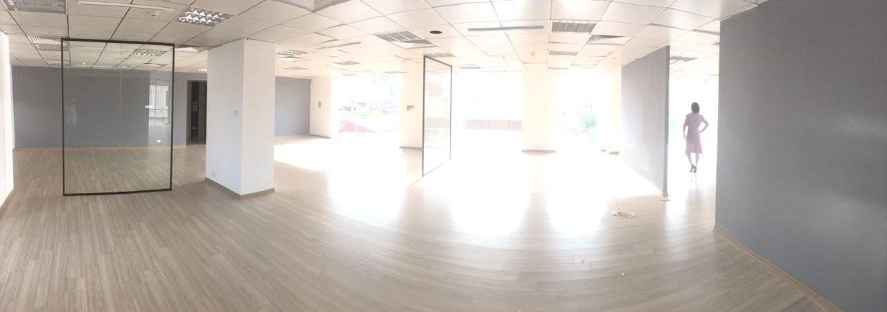 Cho thuê sàn trống DT 80m2,185m2 làm MBKD,Ngân Hàng,Văn Phòng tại quận Hoàn Kiếm