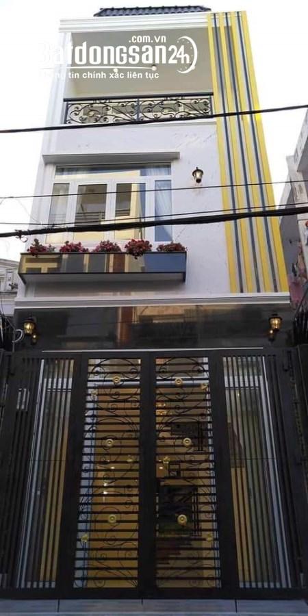 Nhà giá rẻ, M.T hẻm 3 lầu 4pn Nguyễn Thượng Hiền f5 Bình Thanh.