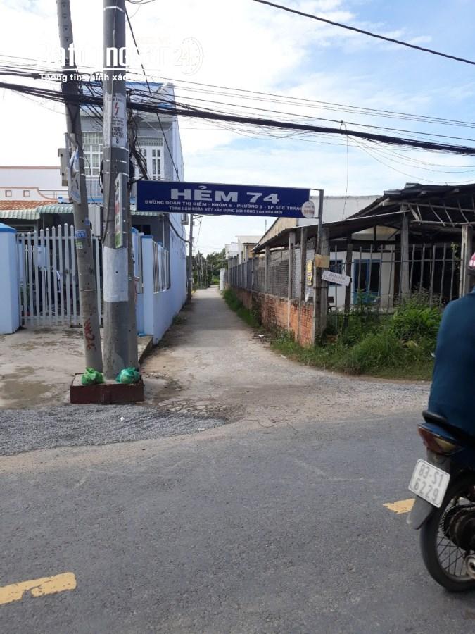 Bán đất Đường Đoàn Thị Điểm, Phường 3, TP Sóc Trăng