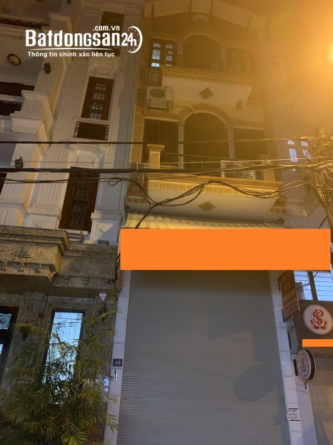 Bán nhà mặt phố Trần Duy Hưng, D tích 120m2, 5 tầng, m tiền 7.5m, kinh doanh.