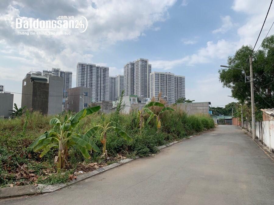 Đất bên hông KĐT Vinhome Grand Park Q9, DT 81m2 (6 x 14) giá 3,7 tỷ