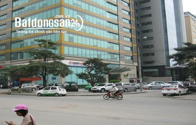 Tòa nhà văn phòng Phố Duy Tân, D tích 1109m2, 18 tầng, m tiền 80m.