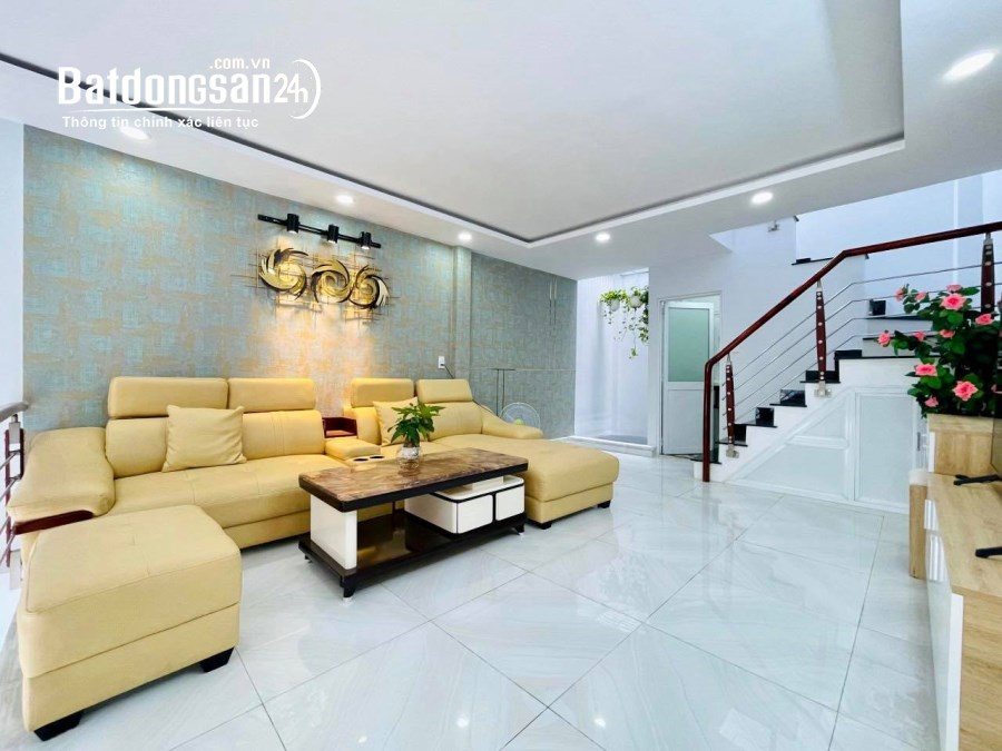 Nhà HXH Gò Vấp, Thiết Kế Sang Chảnh, 3 Tầng, Tặng Nội Thất, Giá Cực Rẻ