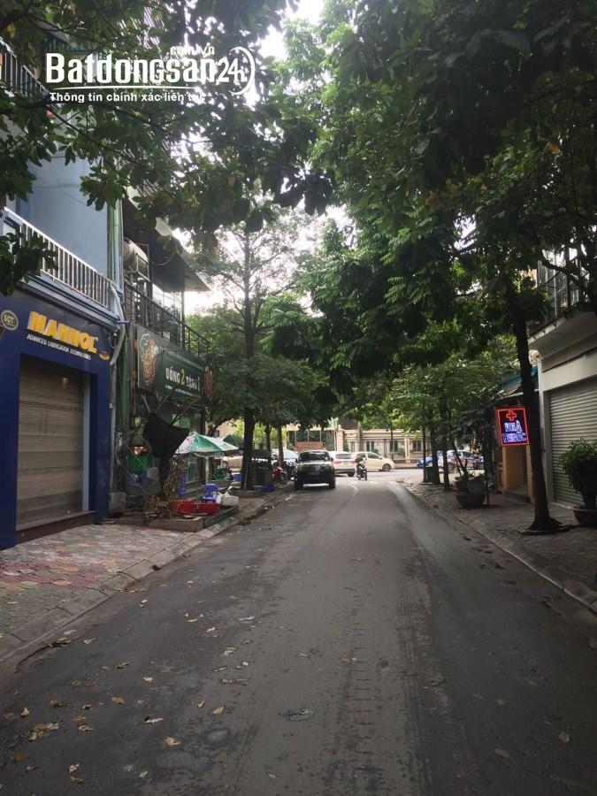 Cho thuê nhà mặt phố Trung Yên 11A , Cầu GIấy 100m x5T mặt tiền rộng nhà đẹp