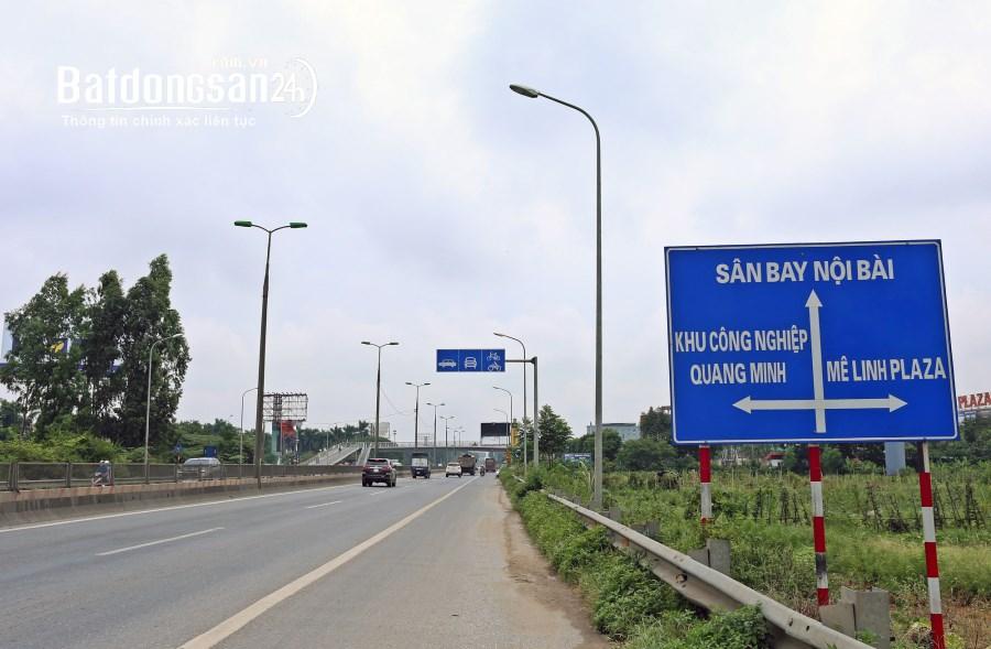 Bán đất Đường Quang Minh, Thị trấn Quang Minh, Huyện Mê Linh