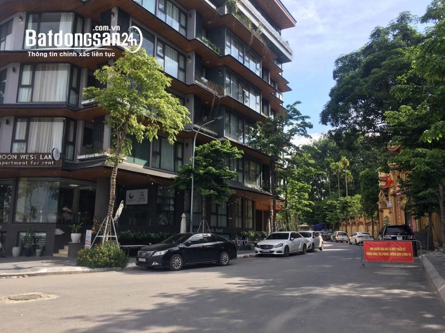 Cho thuê nhà nguyên căn Võng Thị- Tây Hồ: DT53m2x 4 tầng, 5 ngủ, MT4m