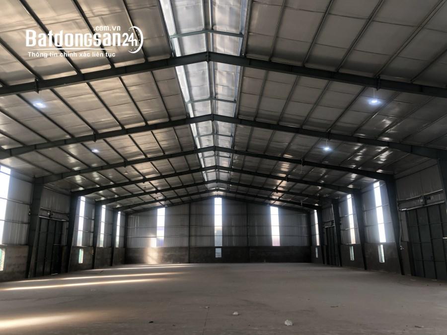 Còn duy nhất 1 kho xưởng cho thuê 860m2 tại Văn Giang - Hưng Yên, ngay Ecopark