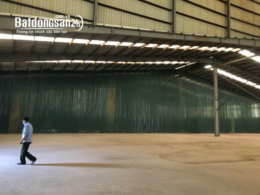 Cho thuê nhà xưởng 1.570m2 Khu công nghiệp Đại Đồng, giá quá rẻ.