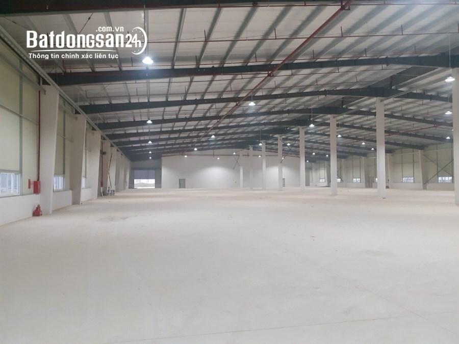 Cho thuê Nhà xưởng 4.800m2, văn phòng 500m2 Khu Công Nghiệp Yên Phong