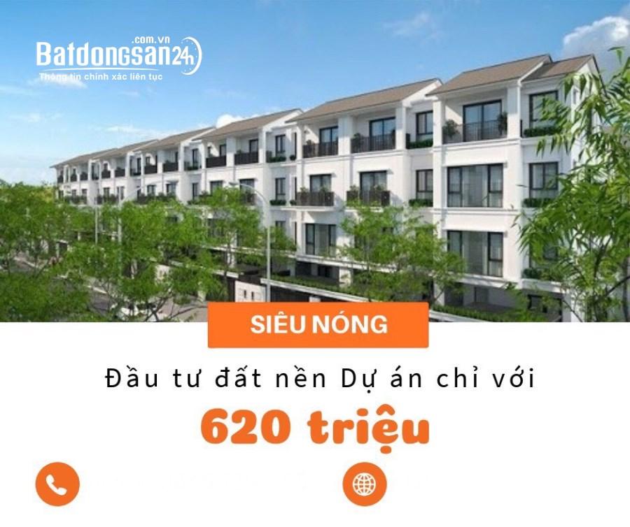 Dự án nhà ở Đô thị Thanh Liêm - Hà Nam, chỉ từ 6,2 tr.đ/m2.