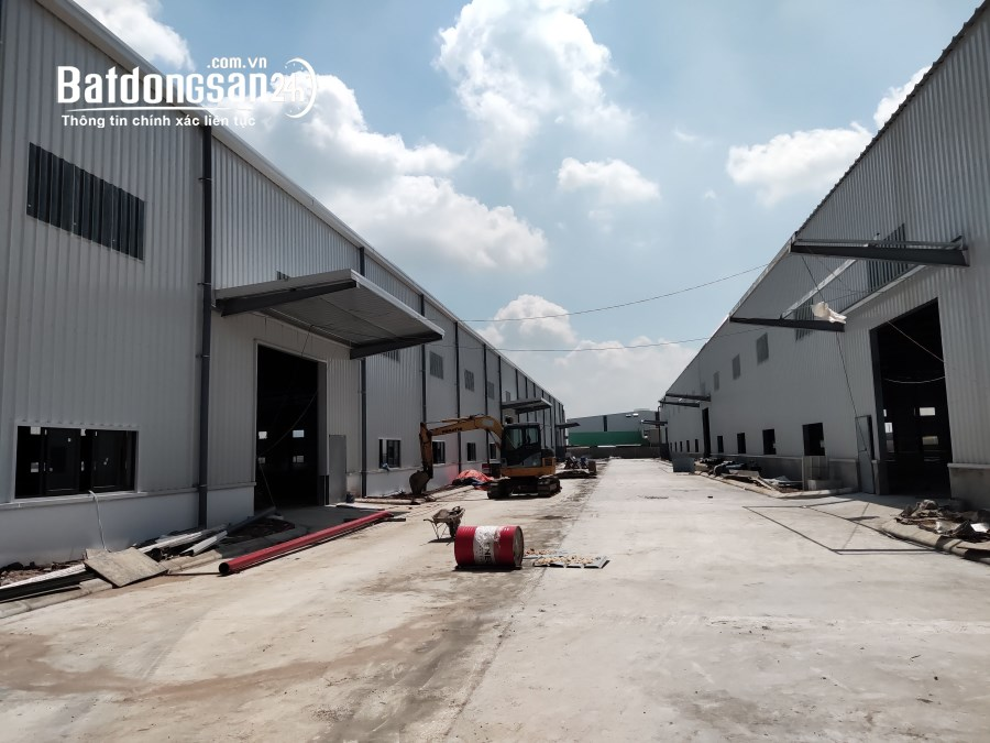 Cho thuê 1000m - 20000m2 Kho, xưởng tại KCN Phố Nối B, Yên Mỹ, Hưng Yên.