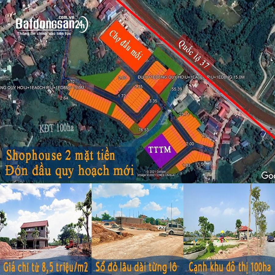 Bán đất nền phân lô Đường Quốc lộ 37, Xã Xuân Phương, Huyện Phú Bình