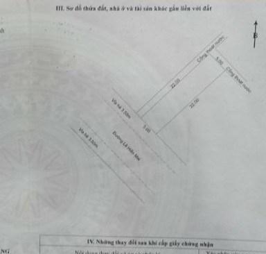 Bán đất Đường Lê Hiến Mai (kẹp công viên). Gía sập hầm