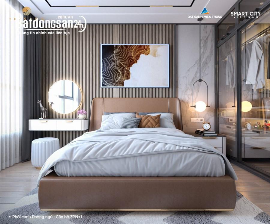 Căn hộ 2PN view biển Mỹ Khê tầng 15 chung cư cao cấp The sang với giá ưu đãi