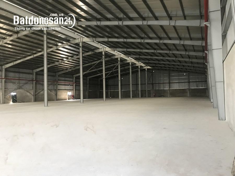 Cho thuê nhà xưởng 20000m2,khu Công Nghiệp Đại Đồng, giá chỉ 3,5$/m2.