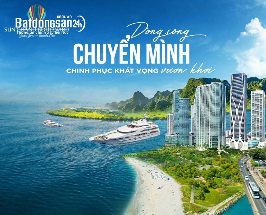 nhận đặt 2 căn đẹp nhất dự án Sun Riverside Village - Sun Group Sầm Sơn