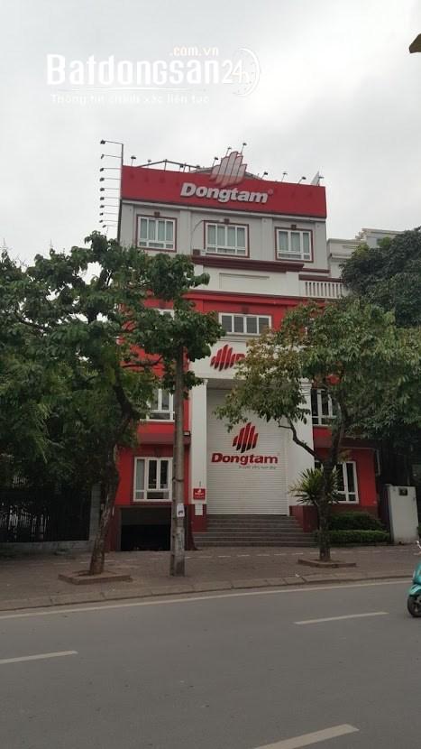 Cho thuê nhà mặt phố Nguyễn Khánh Toàn vị trí đắc địa nhất tuyến phố.DT 245 m2.