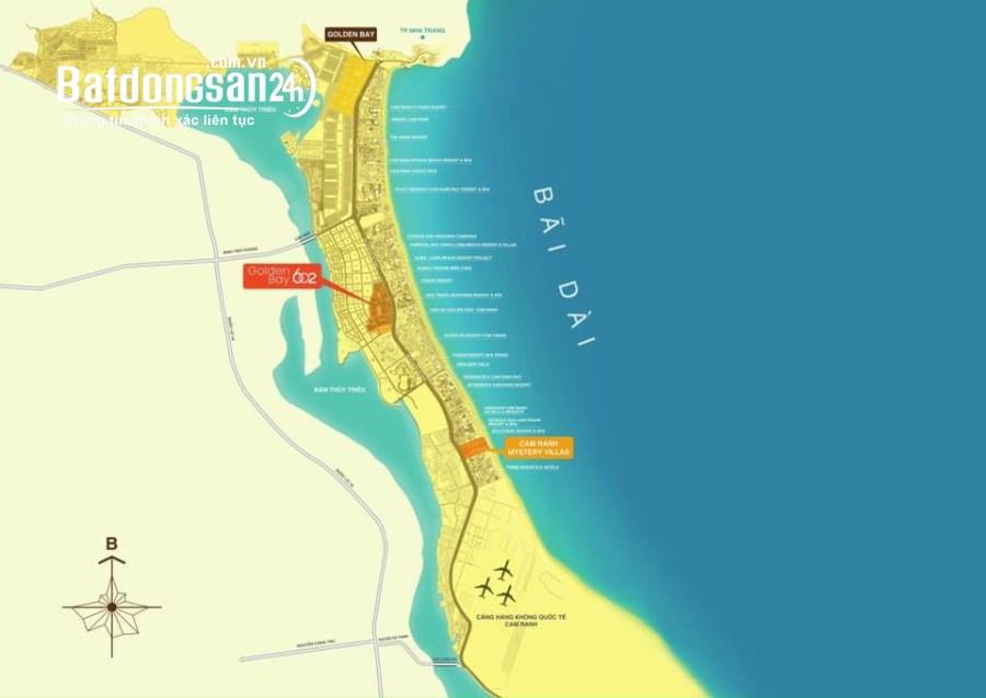 Bán đất nền phân lô Golden Bay 602, Đường Nguyễn Tất Thành, Huyện Cam Lâm