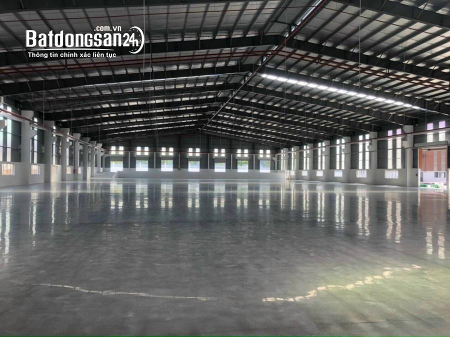 Cho thuê Kho Xưởng KCN Lộc An-Bình Sơn, Long Thành, Đồng Nai. dt xưởng 2550m2