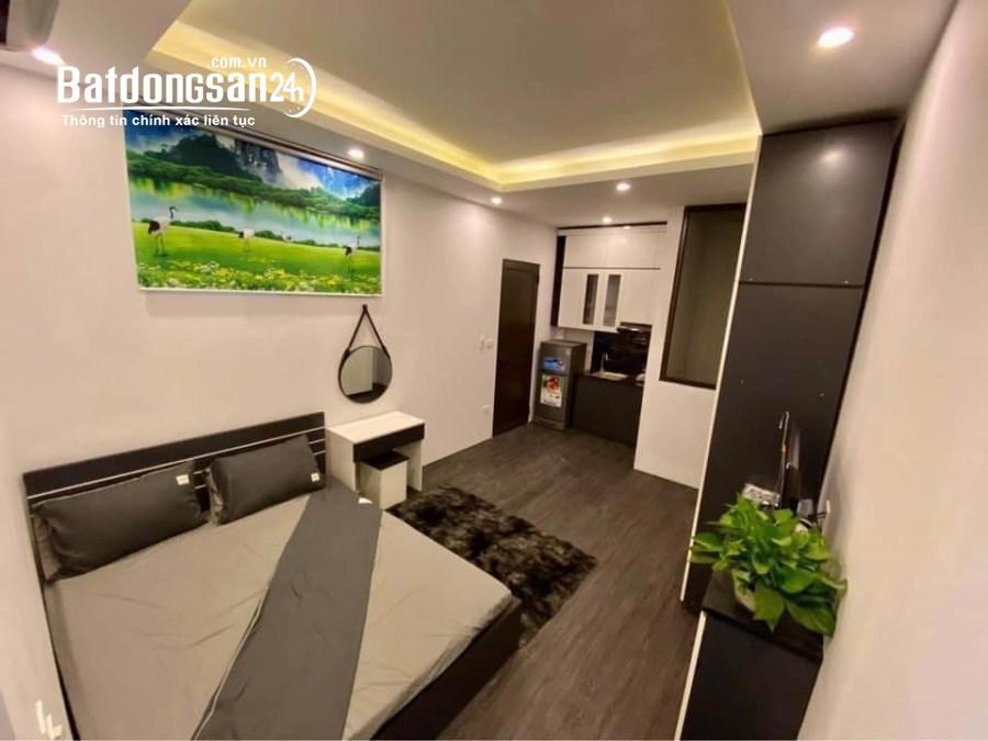 Chung cư mini đường Láng – Nguyễn Chí Thanh, 7 tầng, 11 phòng cho thuê, 6,5 tỷ