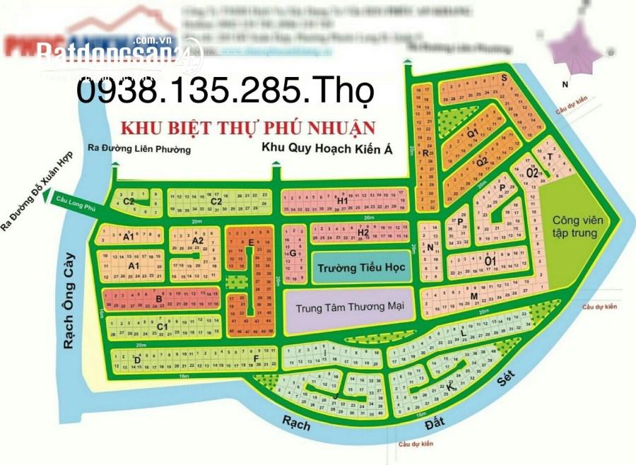 Bán đất nền phân lô Đường Liên Phường, Phường Phước Long B, Quận 9