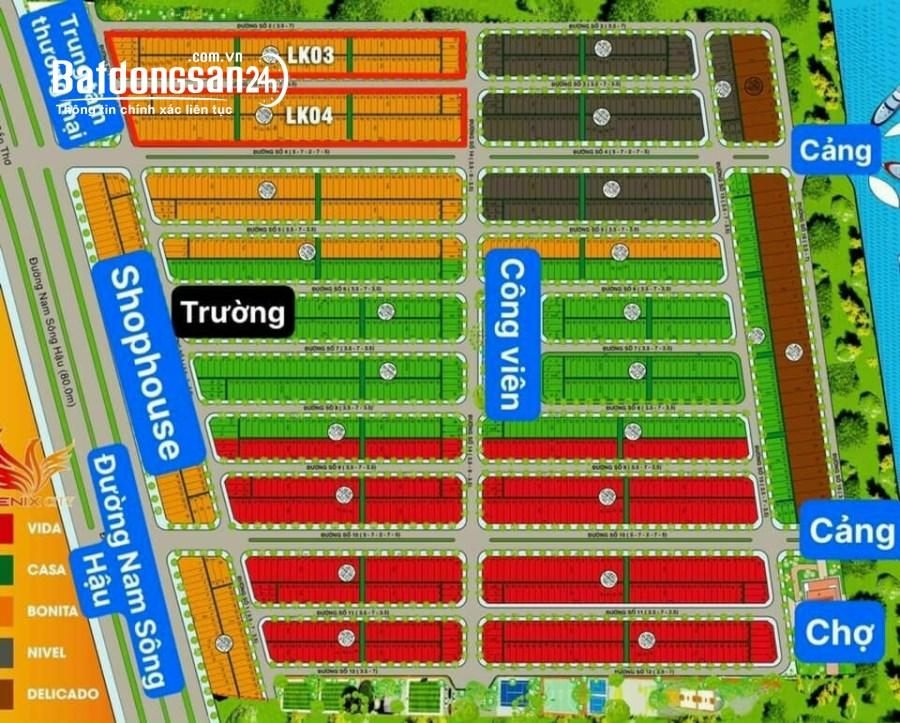 Cần bán 80m2 thổ cư ngay khu công nghiệp Nam Sông Hậu, Hậu Giang