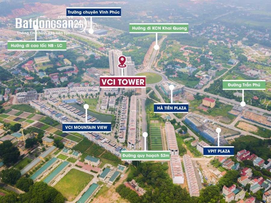 Bán căn hộ chung cư VCI Mountain View, Đường Quốc Lộ 2B, Tp Vĩnh Yên