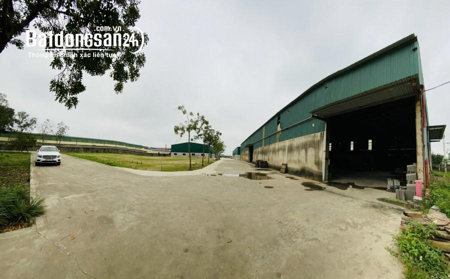 Cho thuê nhà xưởng 19.400m2 tại Thanh Hóa
