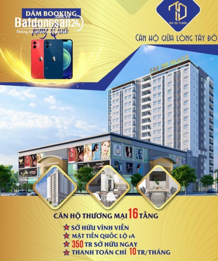 Sở hữu căn hộ sang chảnh tại Cần Thơ chỉ 350 triệu tặng ngay IP12