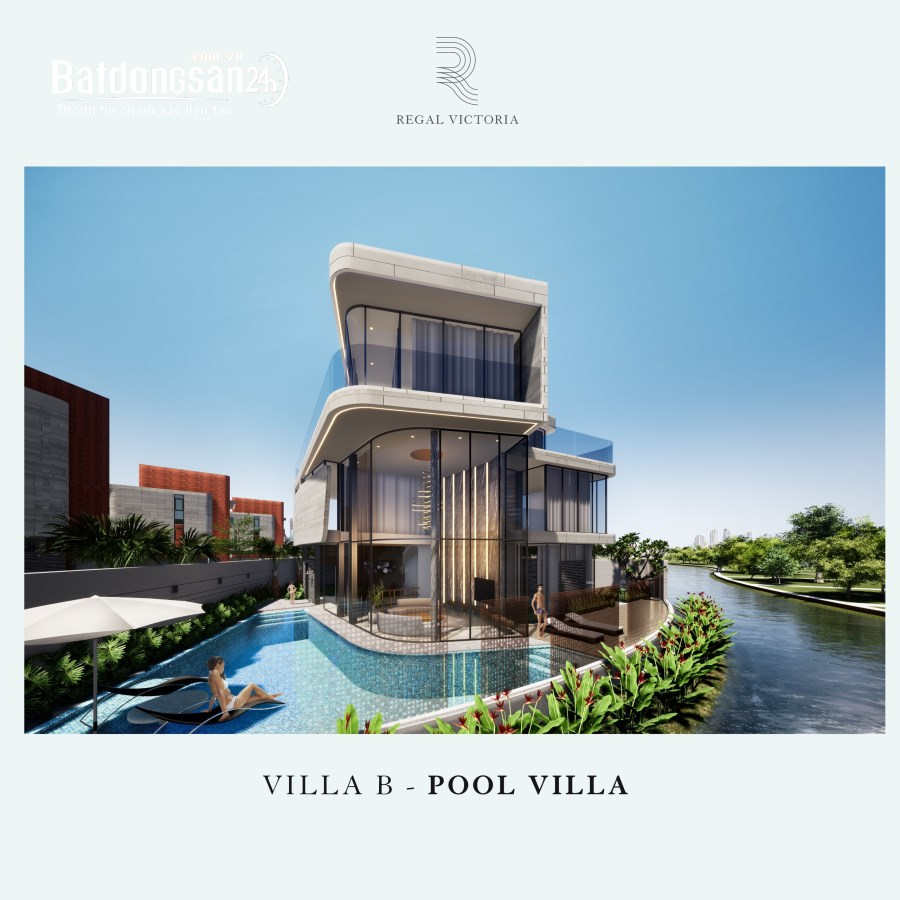 Regal Victoria biệt thự đảo ngọc - duy nhất một suất ngoại giao căn 362m2
