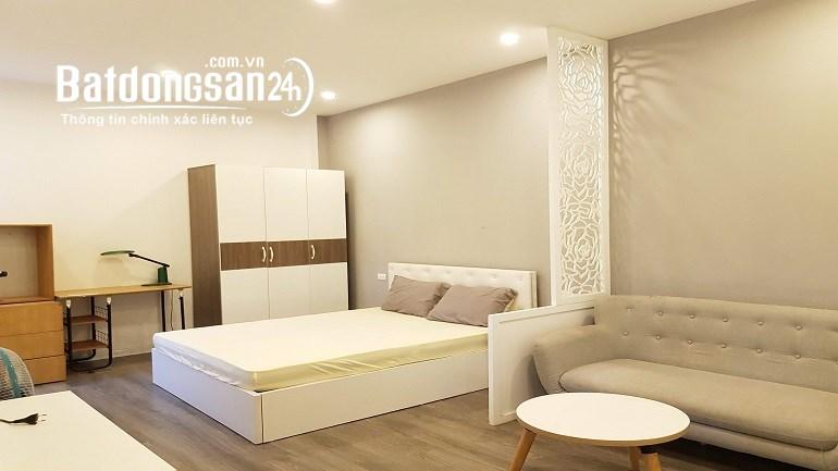 Cho thuê căn hộ dịch vụ tại Đội Cấn, Ba Đình, 30m2, 1PN, đầy đủ nội thất mới