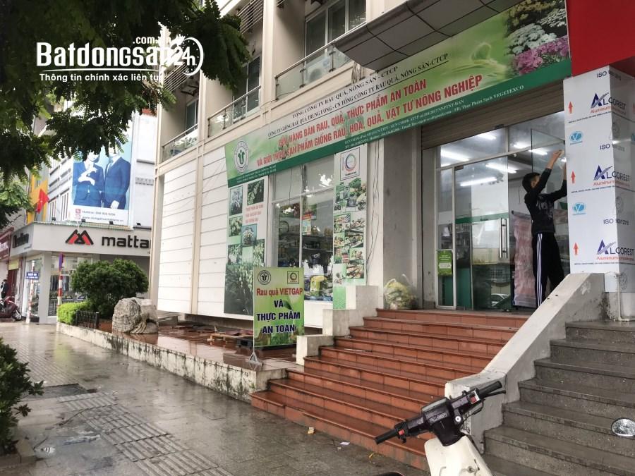 Cho thuê mặt bằng kinh doanh mặt phố Lê Trọng Tấn dt 60m2, mặt tiền 7m