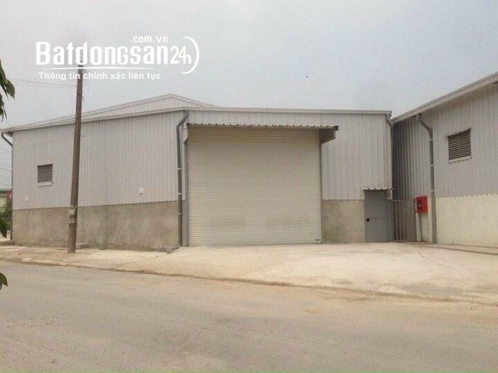 Cho thuê kho xưởng tiêu chuẩn tại Hoài Đức, Hà Nội DT 460m2