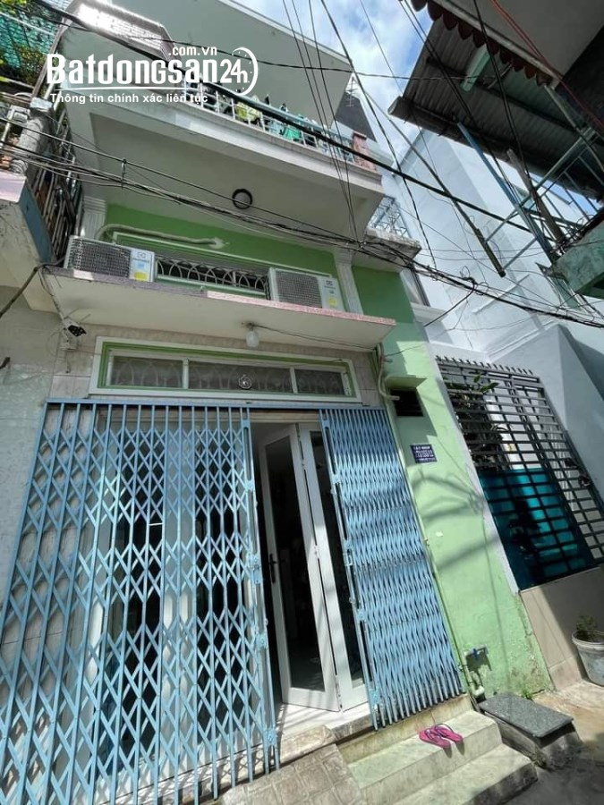 Bán Nhà-Hẻm Chợ Tân Hưng-F 8 .Tân Bình- 4m -3 Tầng -chỉ 3.7 tỷ