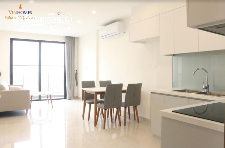 Cho thuê căn 2 Phòng ngủ, 60m2,có điều hòa, tại Vinhomes Smart City 6tr