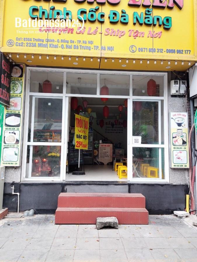 Cho thuê cửa hàng tầng 1 tiện kinh doanh tại số 233A Minh Khai, Hai Bà Trưng