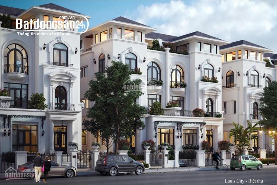 Biệt thự LOUIS CITY HOÀNG MAI mặt tiền 12m, cạnh hồ yên sở giá tốt nhất