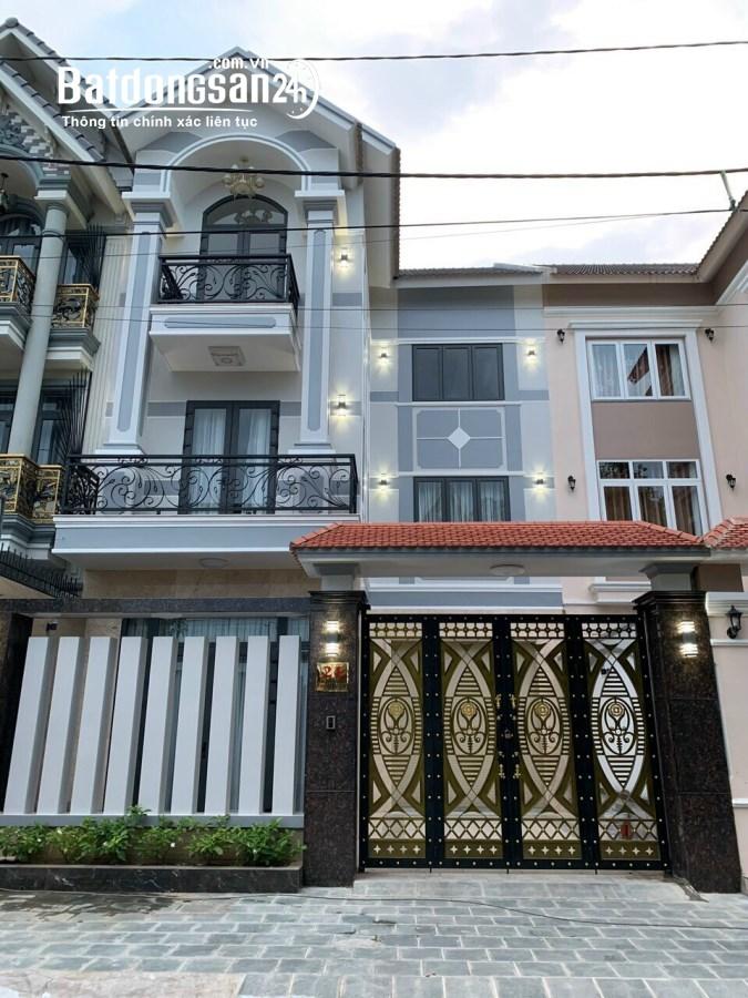 Biệt thự 215 Nguyễn Văn Hưởng Quận 2 DT 8x25 trệt 2 lầu 200m2 giá 37tỷ