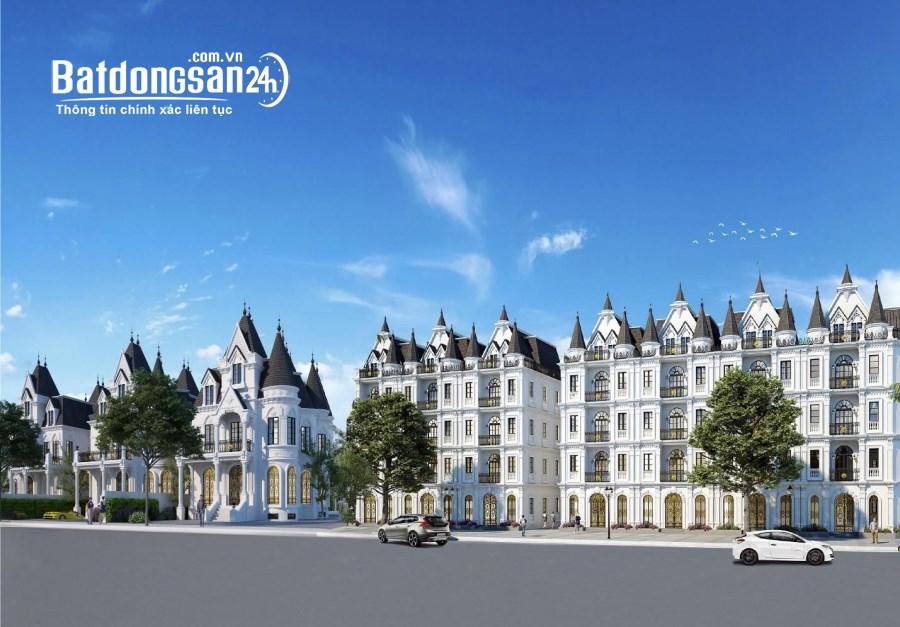 Vimefulland Đông Anh ra mắt biệt thự shophouse mặt QL23B xây 5 tầng