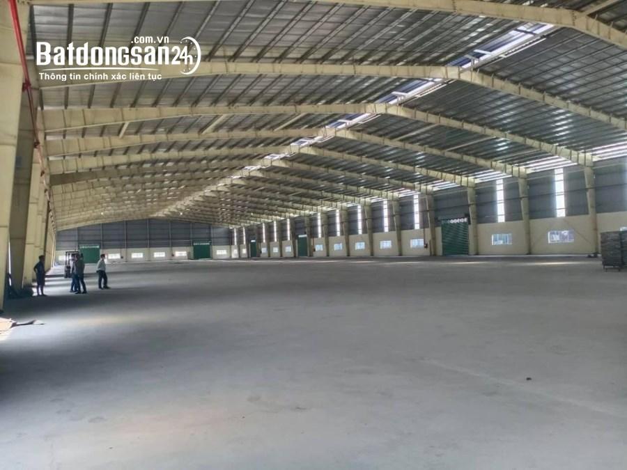 Cần cho thuê kho xưởng Kcn Thịnh Phát, Bến Lức, LA. dt sd 10.000m2, giá thuê 50k