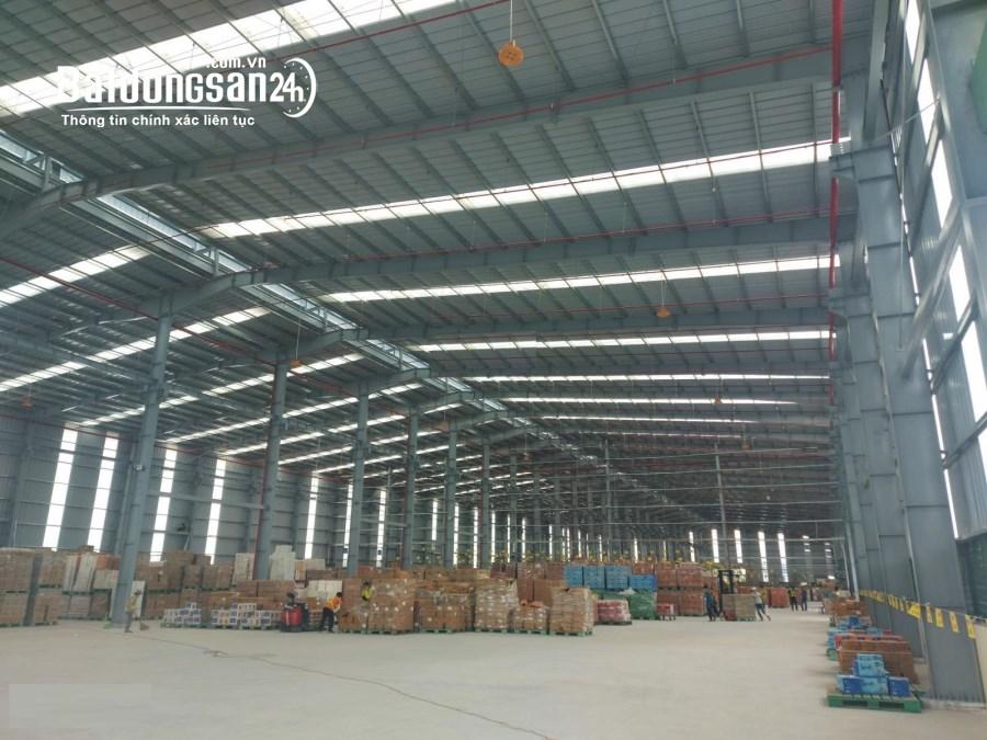 Cần cho thuê kho xưởng diện tích 1800m2 mt Ql 50, Cần Giuộc, Long an. giá 130tr