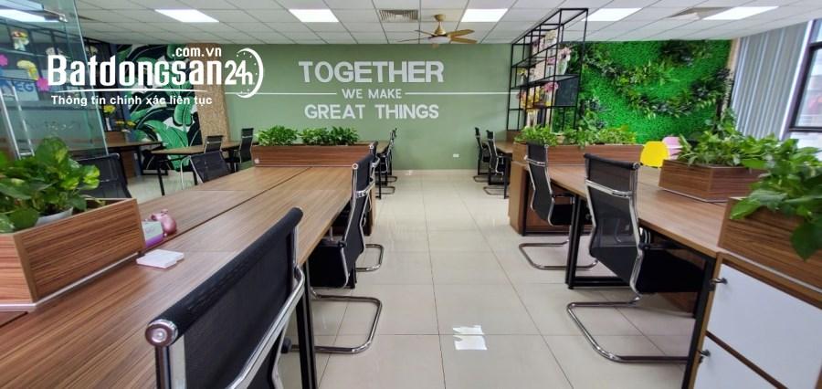 Cho thuê văn phòng 170m, 120m ngã tư Khuất Duy Tiến tầng trung view thoáng